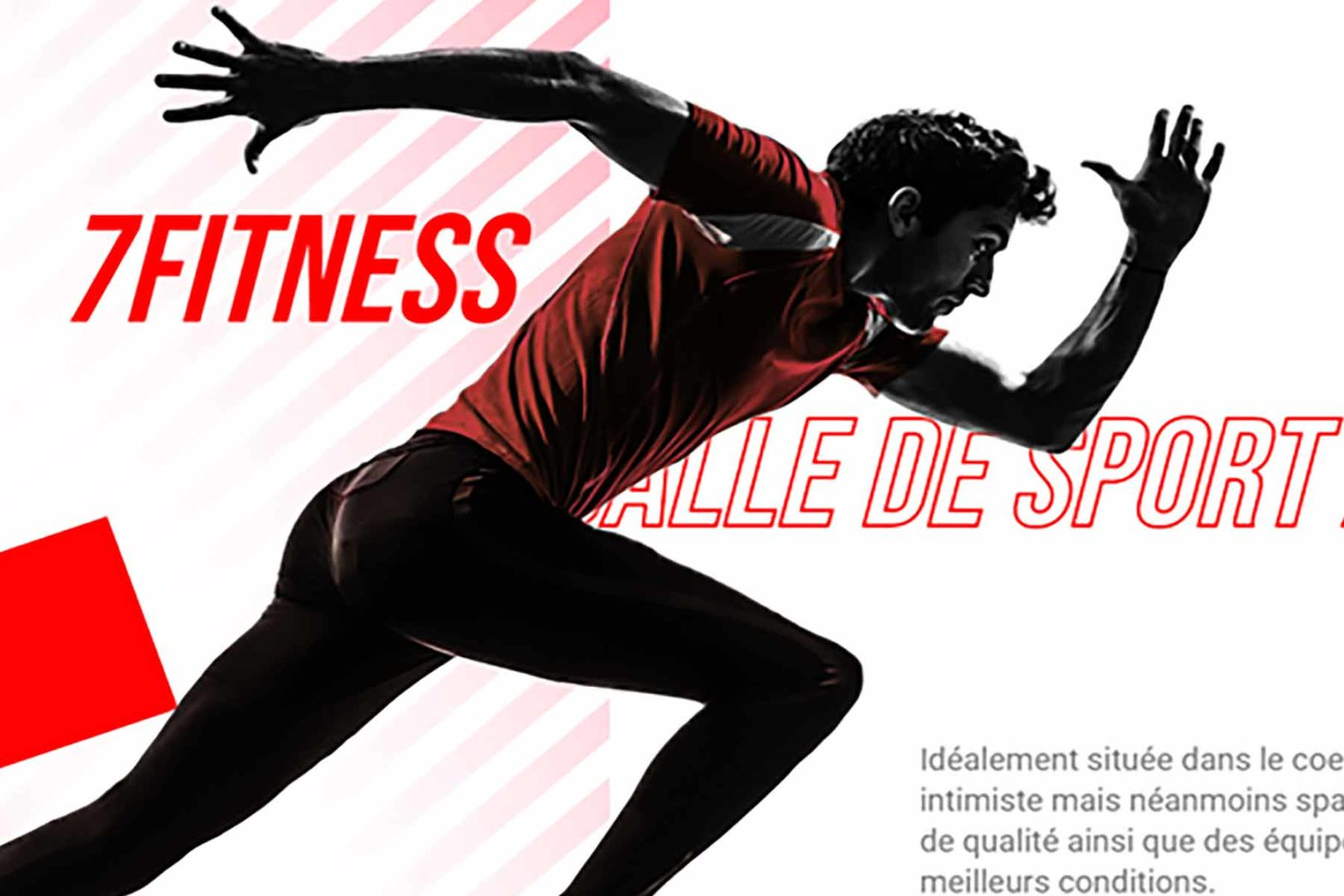Réalisation Site internet 7fitness.fr